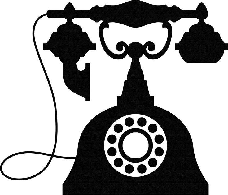 Telephone clipart vintage telephone Vintage Pinterest on Telephones 235