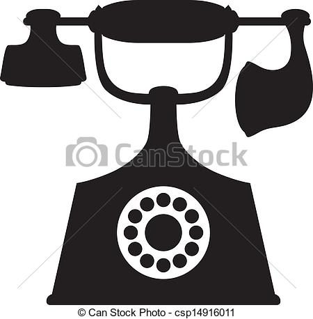 Telephone clipart vintage telephone Old Old Phone  of
