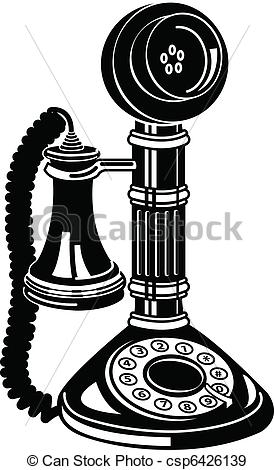 Telephone clipart vintage telephone Download Clipart Clipart Vintage Phone