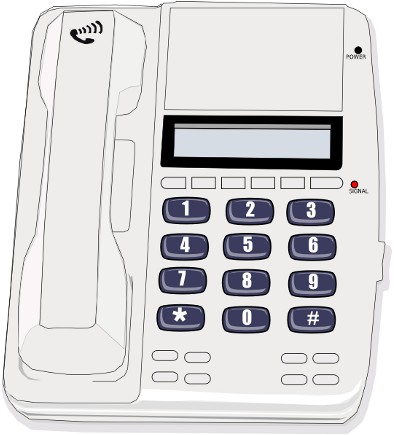 Telephone clipart white png /telephone/wall_and_desk_phones/phone_white phone white  html