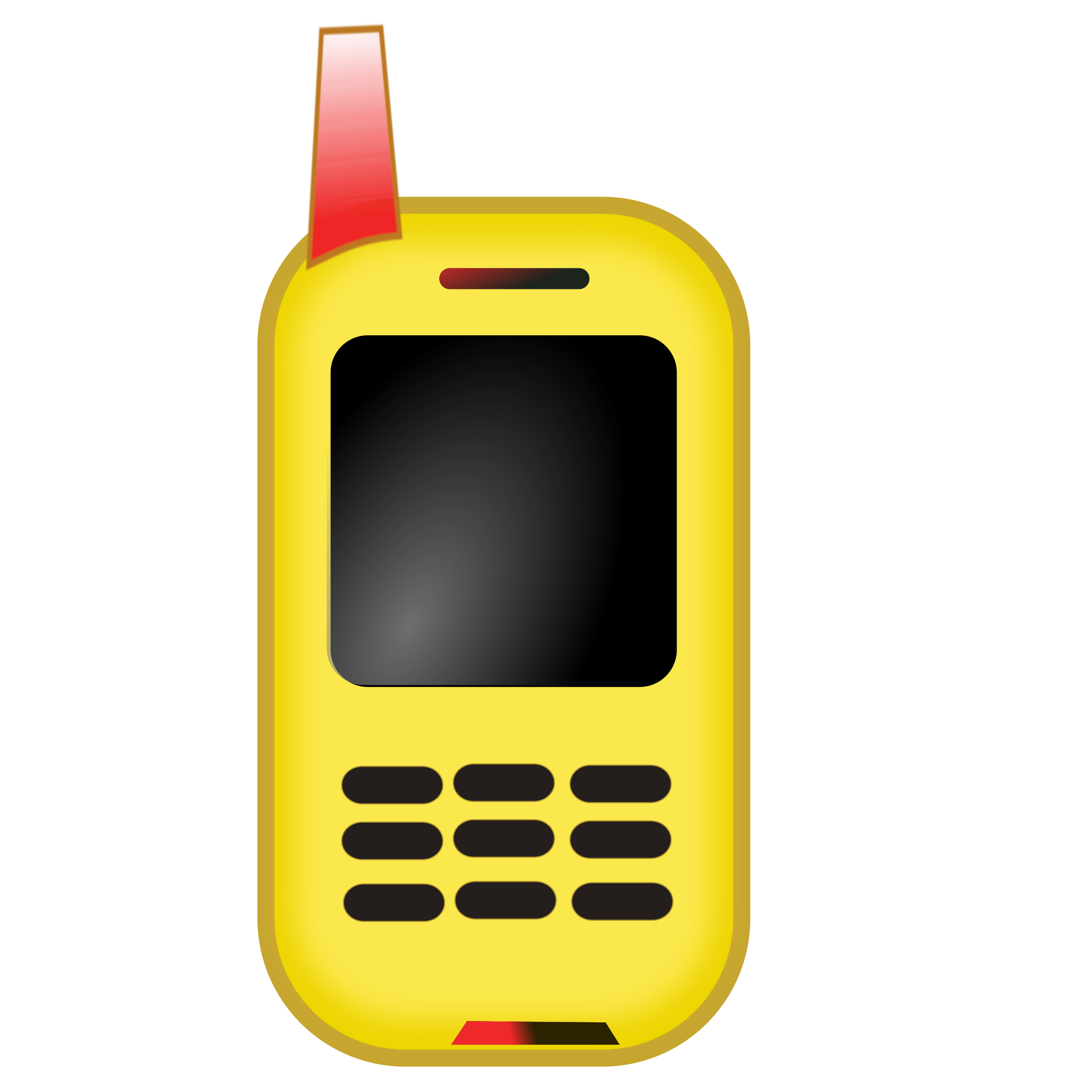 Telephone clipart yellow Cliparts Clipart Clipartwork Clipart —