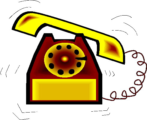 Telephone clipart yellow Telephone Free Free Images Clipart
