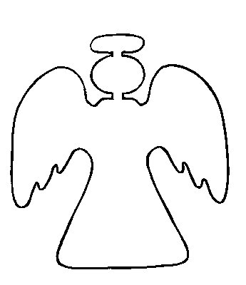 Templates  clipart angel Home Angel  For angel