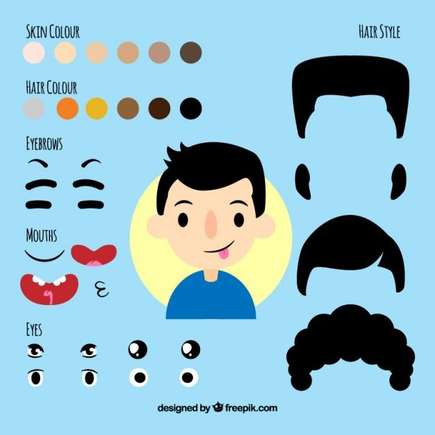 Templates  clipart avatar Free templates best kit complements