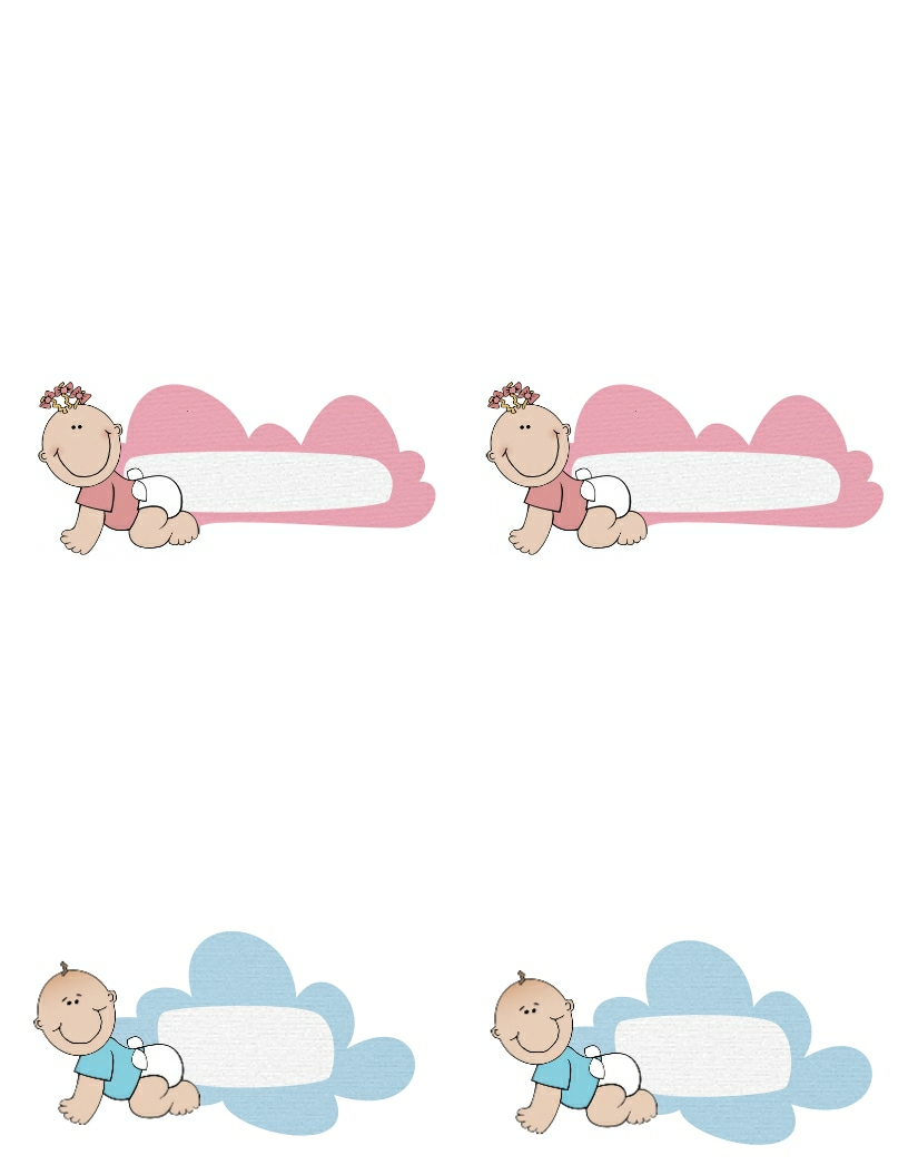 Templates  clipart baby #10