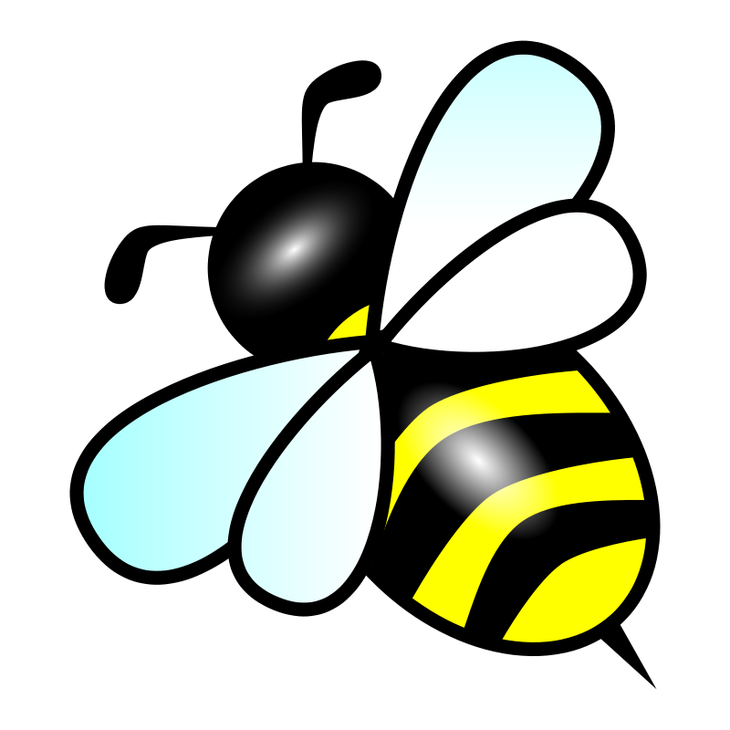 Bees clipart template Bee Template Download Art Template