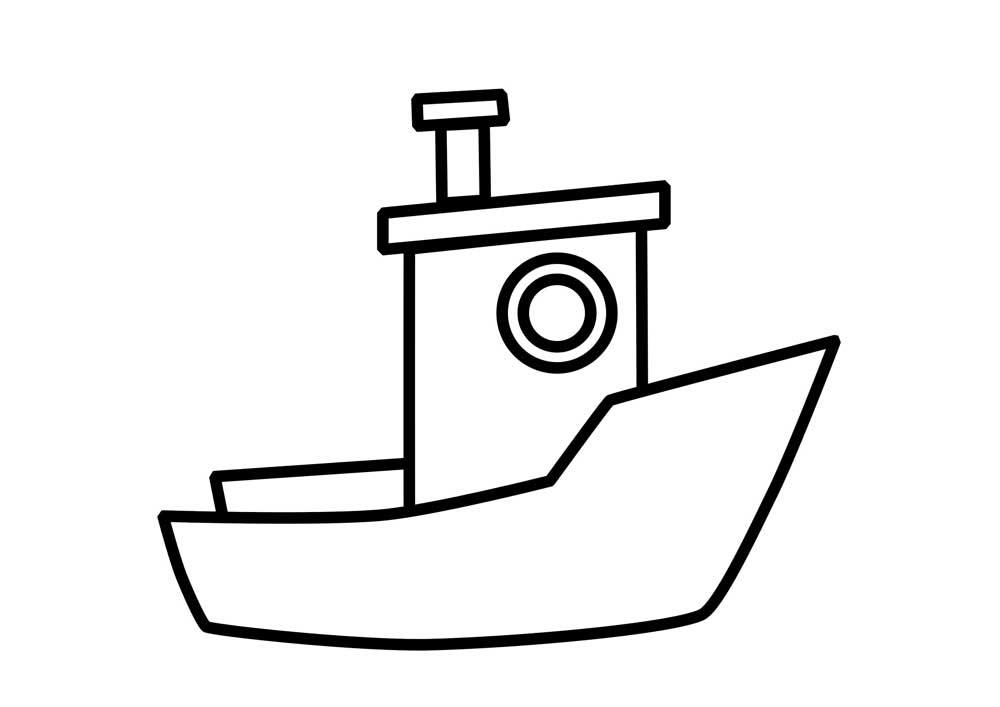 Coloring 21 Pages Boat Coloring