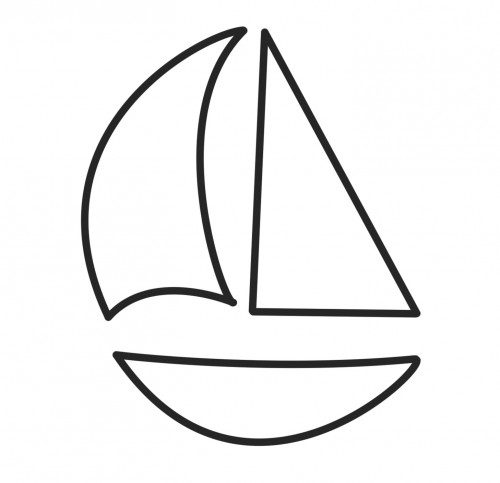 Simple Clipart Free Sailboat Images