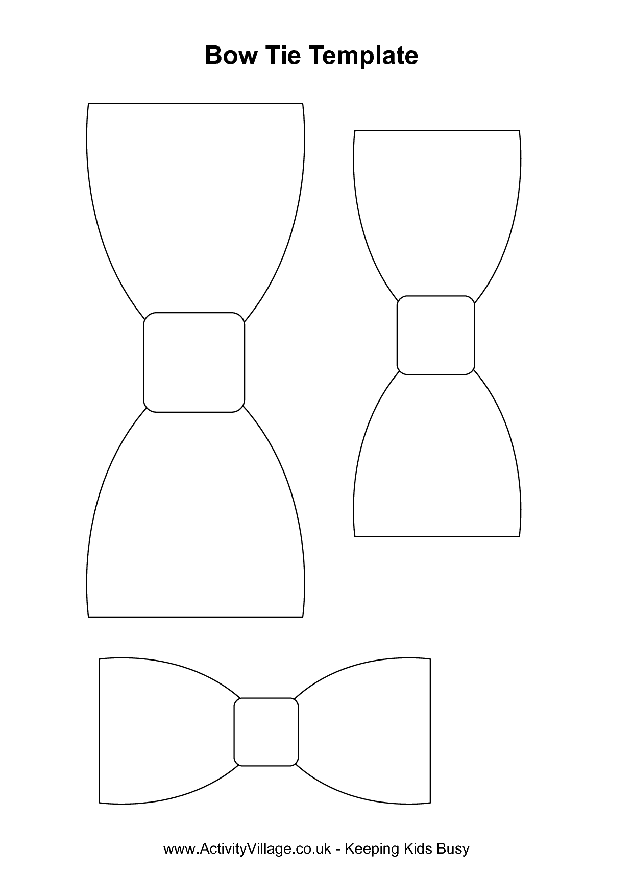Tie clipart bow tie pattern Out of Cut Pattern Out