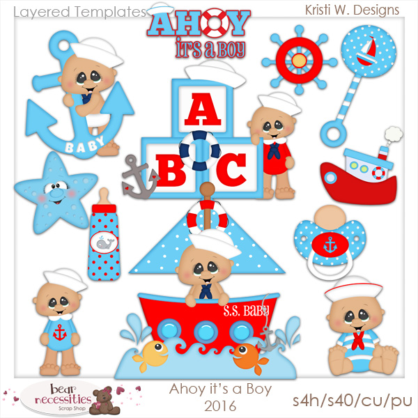 Templates  clipart boy It's products use Ahoy Layered