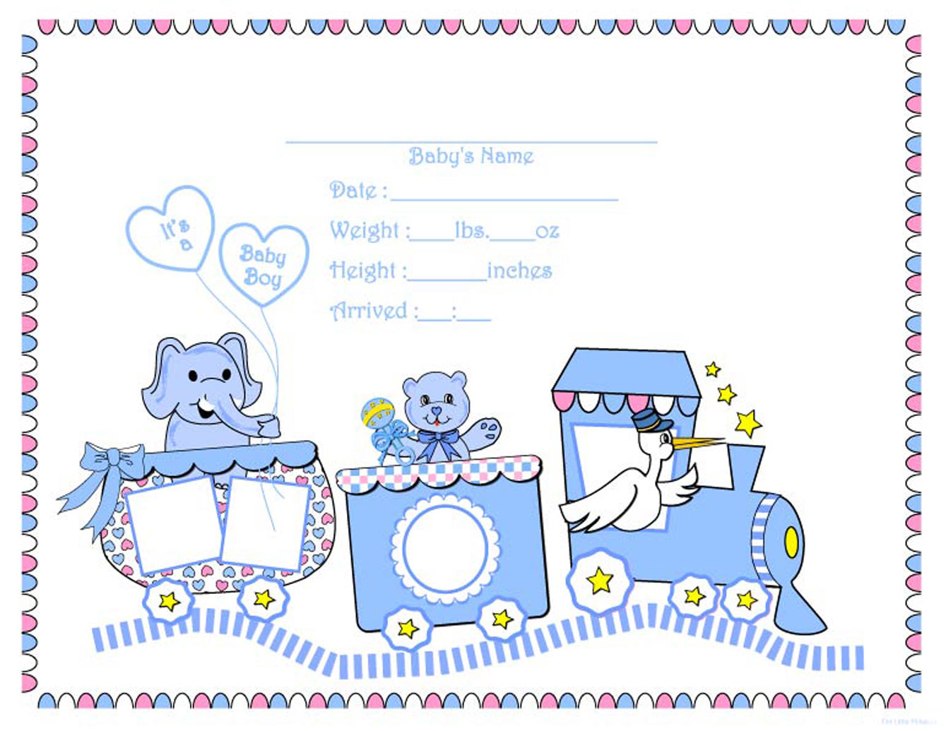 Templates  clipart boy Train Baby New on Clip