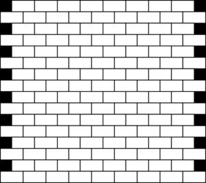 Black clipart brick wall Coloring coloring box pdf Brick