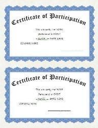 Templates  clipart cert 2 & Wording Wording Certificates