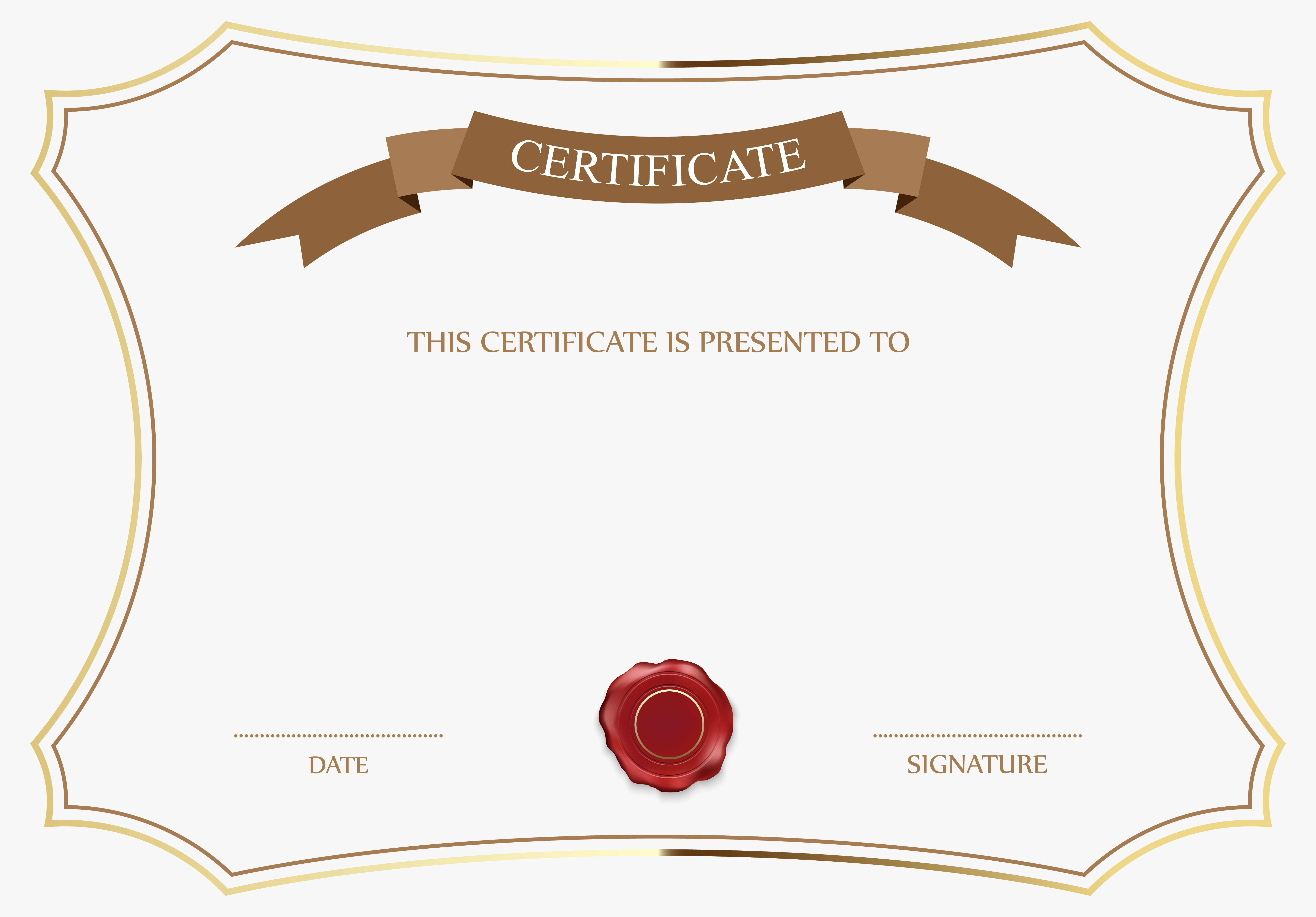 Templates  clipart cert View Template Image and size