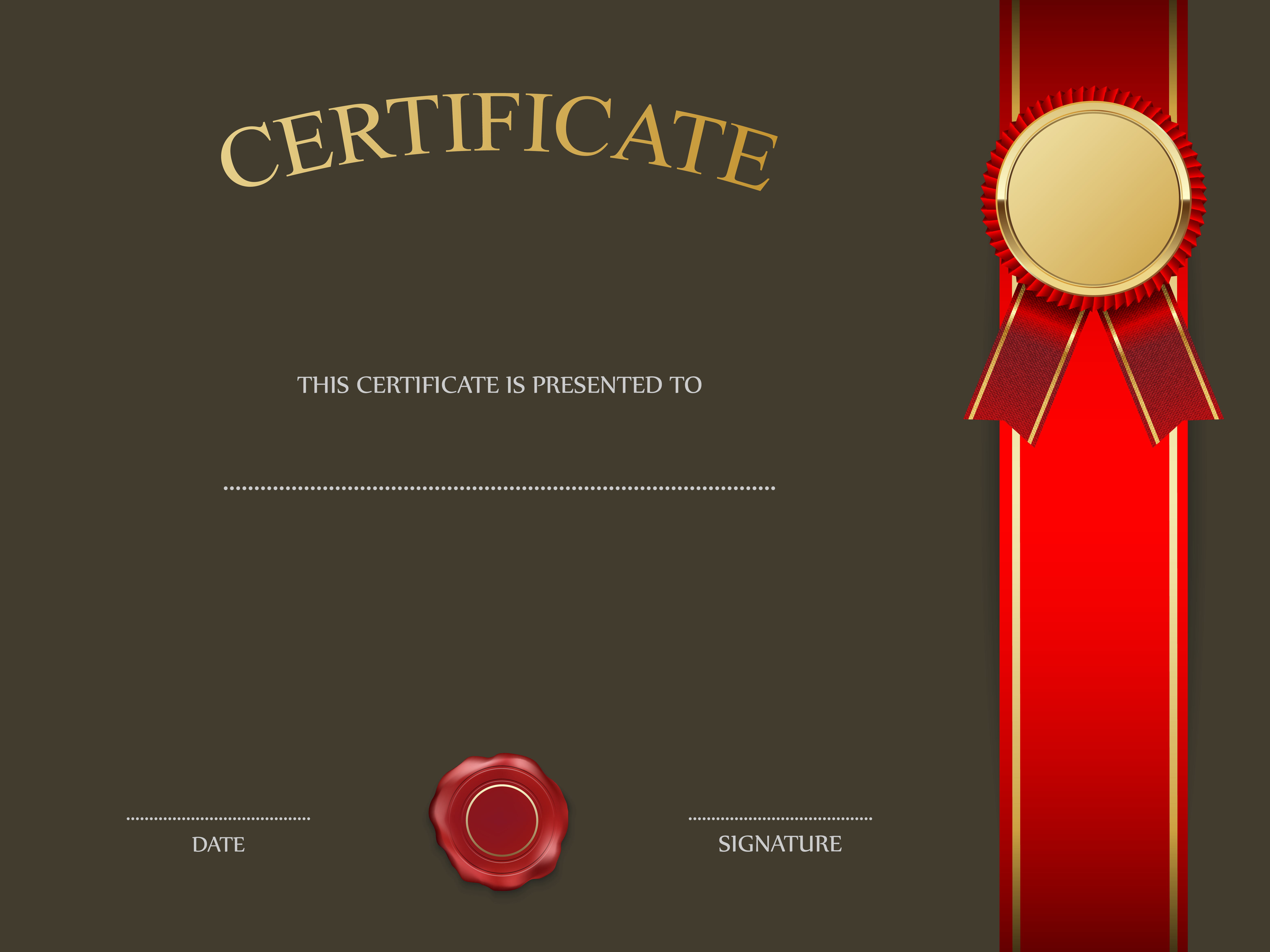 Templates  clipart cert View Image Yopriceville Certificate size