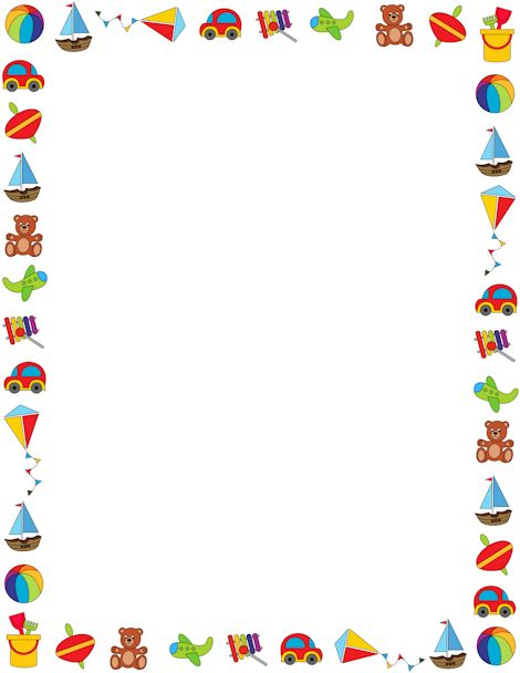 Templates  clipart children's On best 383 toys background