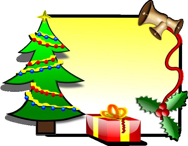 Templates  clipart christmas card Vector at clip Card Template