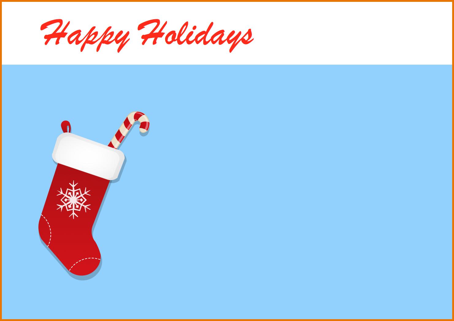 Templates  clipart christmas card Template Holidays Christmas com Holiday