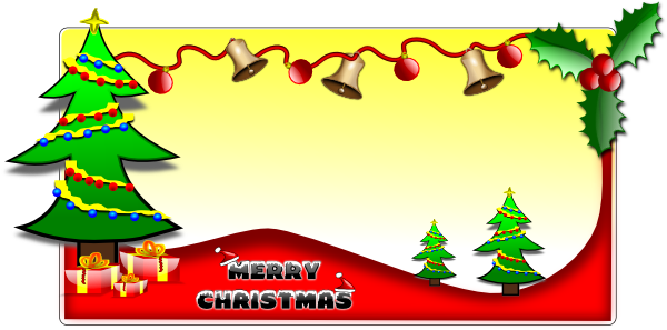 Card clipart christmas card Download  templates clipart Free