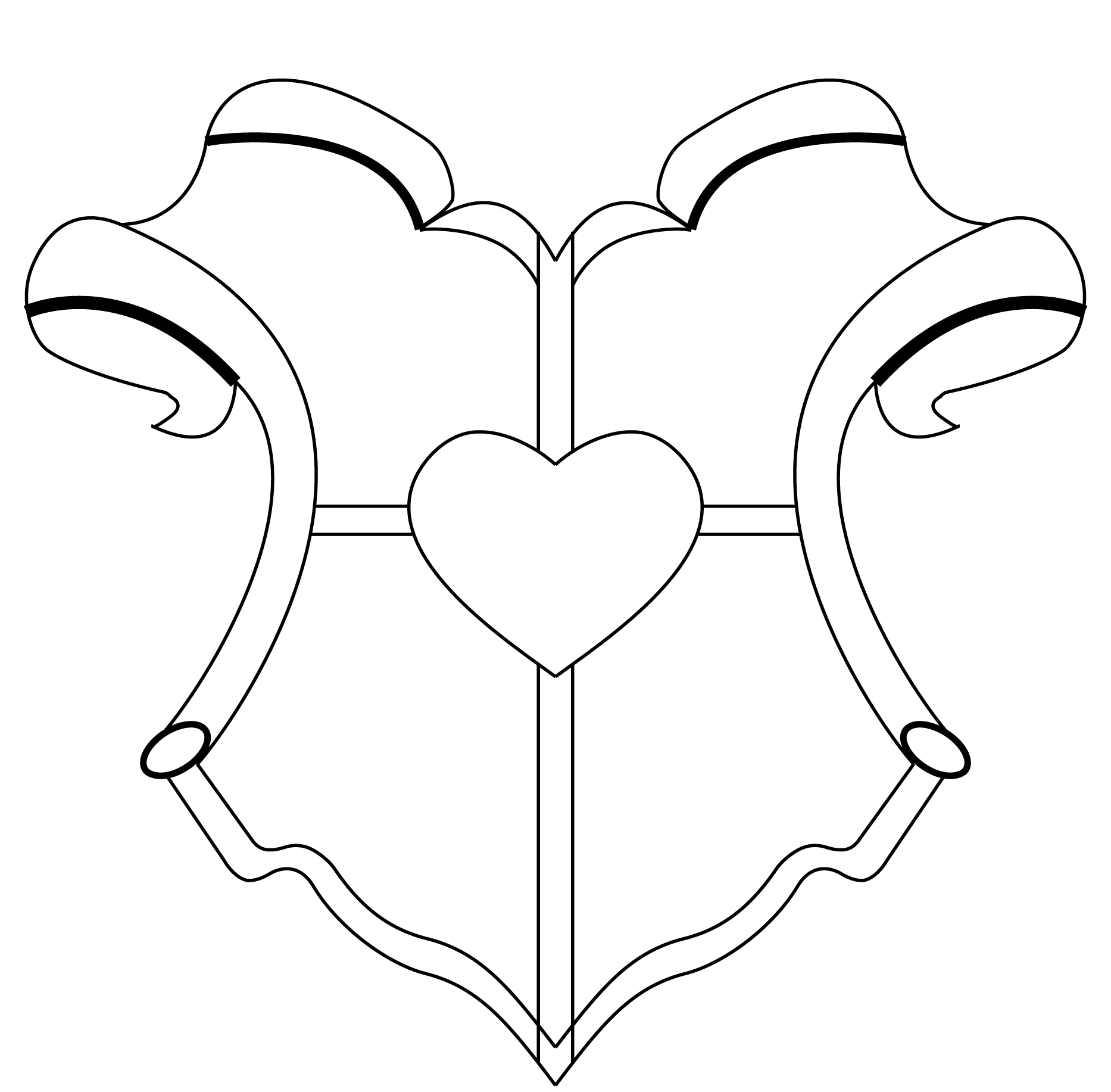 Templates  clipart heraldic Heraldic clipart co shield Crest