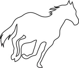 Horse Racing clipart wild animal Images Panda Free Clip And