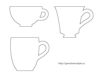 Tea Cup clipart drawn Pinterest including images cup templates