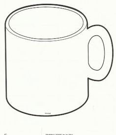 Mug clipart bath Be Coloring template in writing