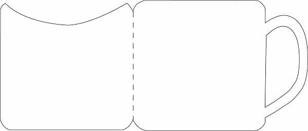 Mug clipart template Template Images Clipart Hand Clipart