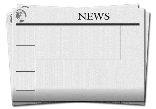 Templates  clipart newspaper front page #3