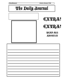Templates  clipart newspaper layout And Can A Mac Microsoft
