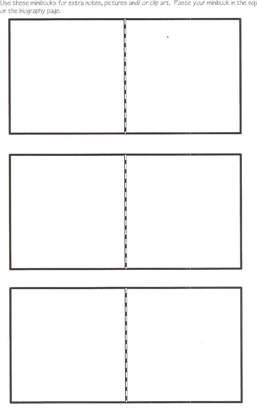 Notebook Practical Biograph Template Templates