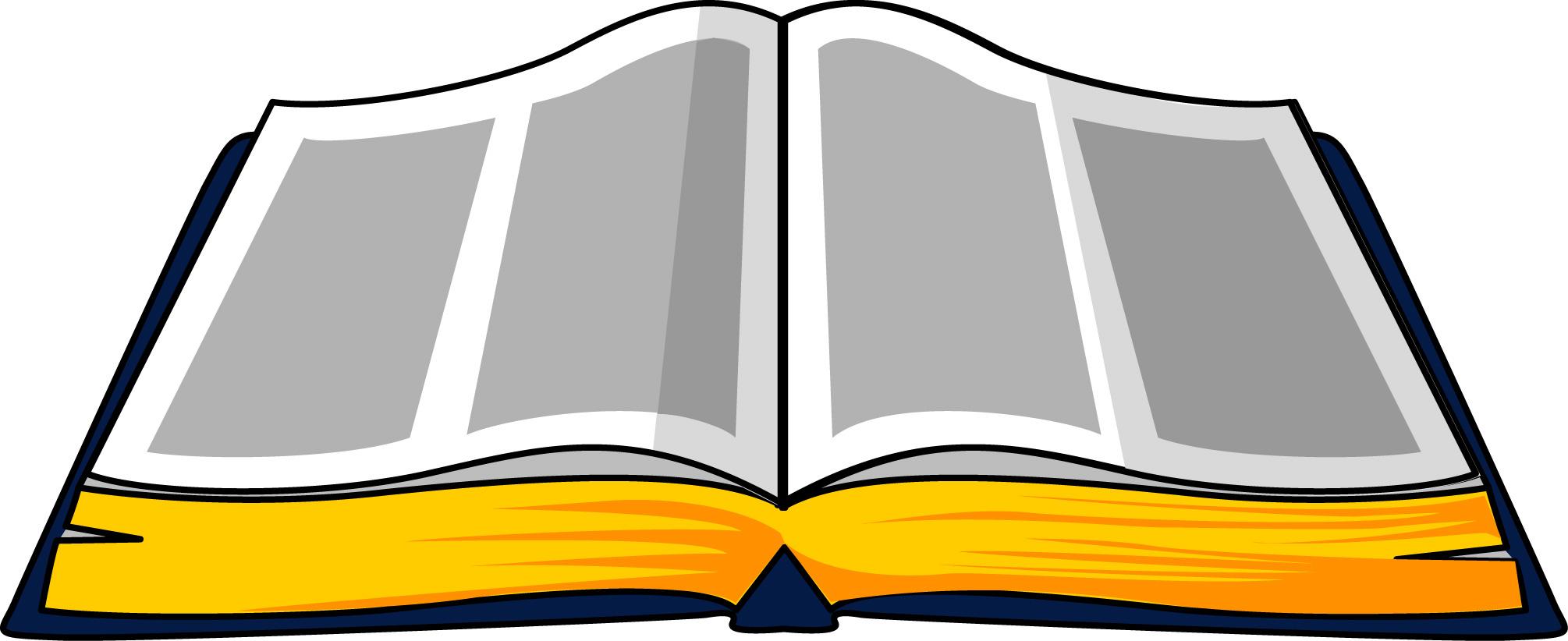 Bobook clipart open bible Clipart Bible Free Open clipart