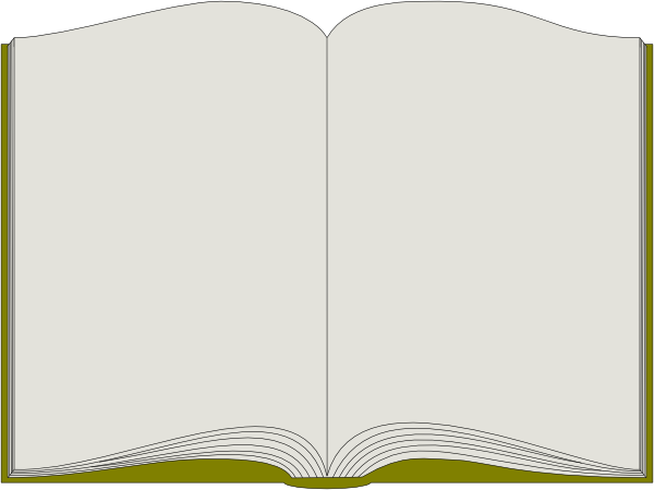 Book clipart open text Open Book Clip com online