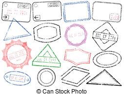 Stamp clipart passport #5