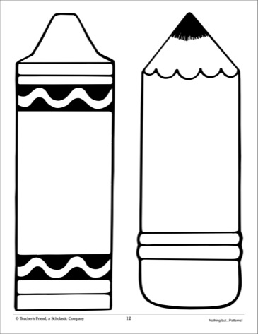 Templates  clipart pencil Pattern Clip and Printables Art