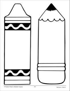 Templates  clipart pencil Pattern images and best Pencil: