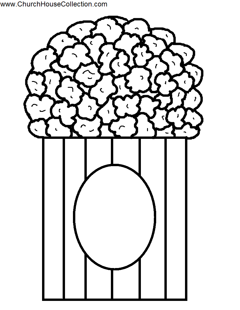 Templates  clipart popcorn Cliparts Clipart free Popcorn images