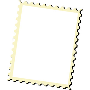 Templates  clipart postal stamp #10
