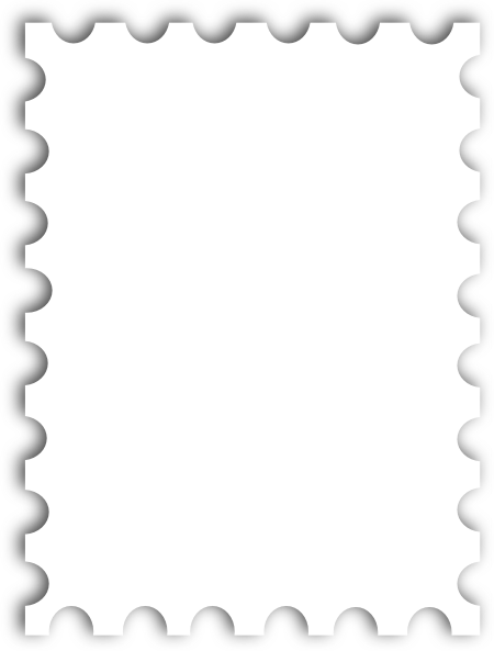 Templates  clipart postal stamp #13