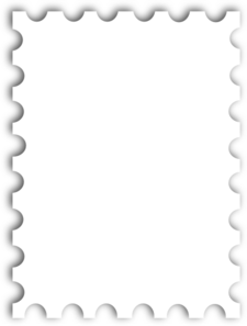 Templates  clipart postal stamp #3