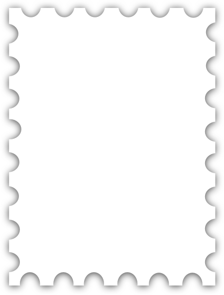 Templates  clipart postal stamp #6