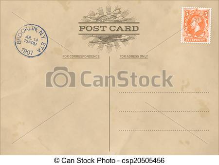 Templates  clipart postcard Vector Vector Vector Quality Template