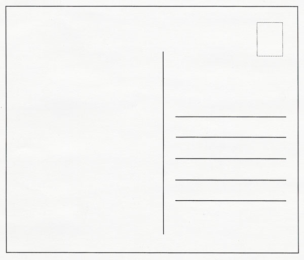 Templates  clipart postcard Postcard Clip Art Clipart Anchor
