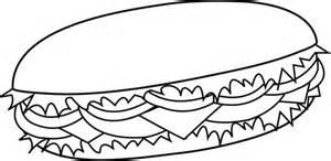 Black And Clip White Sandwich