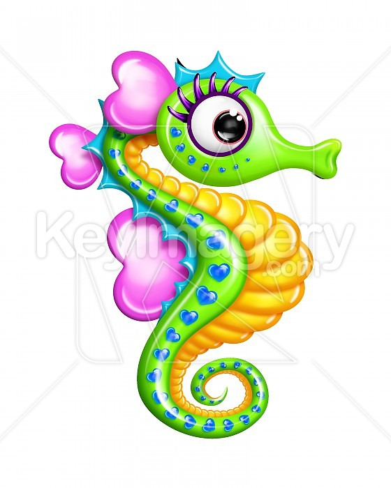 Seahorse clipart pregnant #2