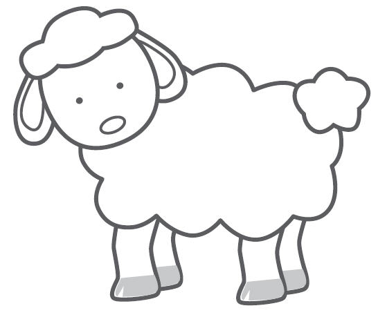 Simple clipart sheep Art images  Clip Clip