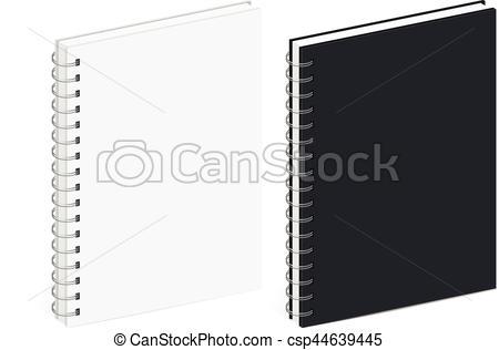 Templates  clipart spiral notebook #11