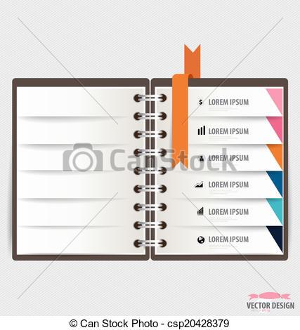 Templates  clipart spiral notebook #12