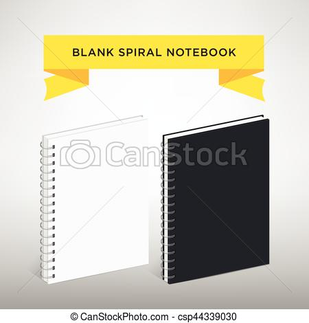 Templates  clipart spiral notebook #10
