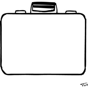 Templates  clipart suitcase Pages template suitcase colouring template